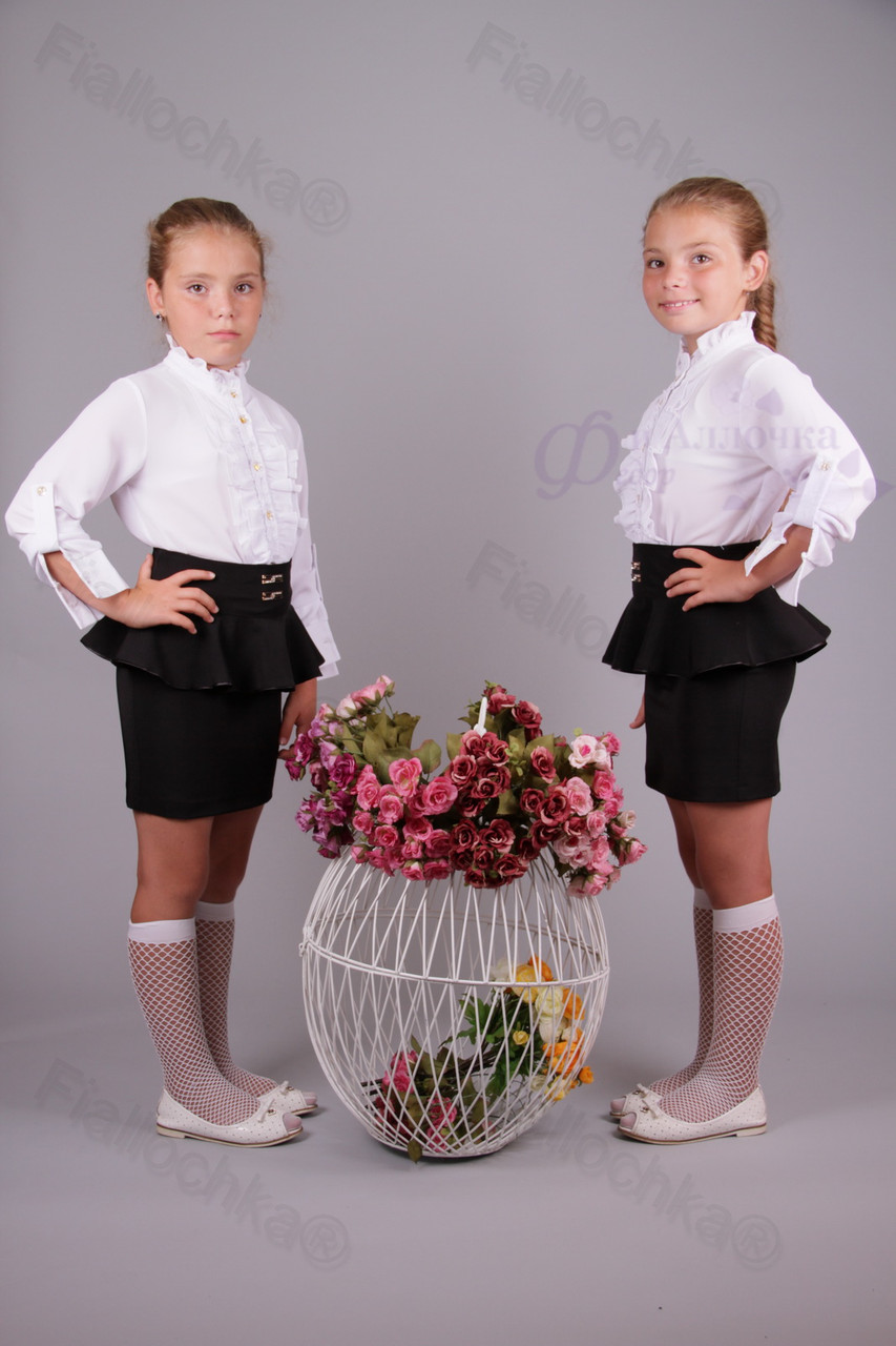 Блузка школьная купить оптом