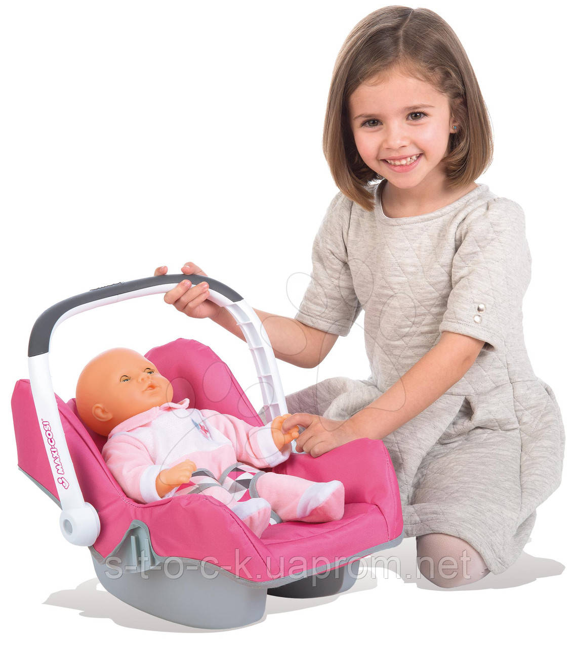 Автокресло-переноска для кукол Smoby 240224 «Maxi-Cosi&Quinny»
