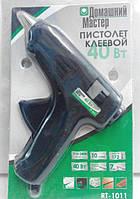 """Клеевой пистолет (термопистолет) """"Домашний мастер"""" 40Вт Ø11,2 мм"""