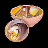 Миска глиняная Колорит DD0425 Покутская керамика