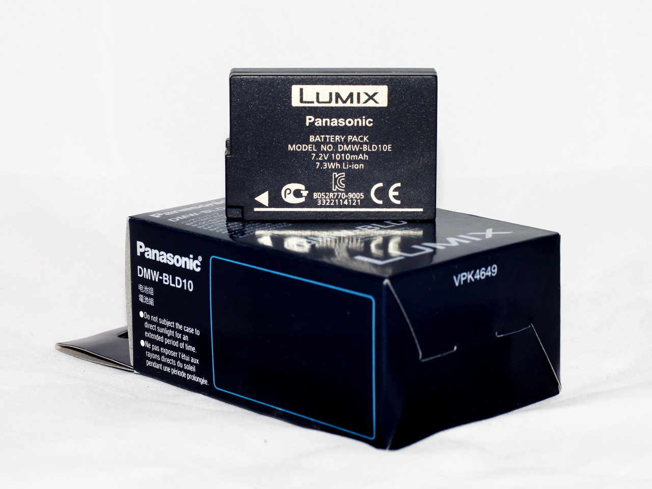 Аккумулятор DMW-BLD10E (аналог DMW-BLD10 DMW-BLD10GK DMW-BLD10PP) для фотоаппаратов Panasonic