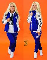 Спортивный костюм женский с начесом (цвета) СЕВ287