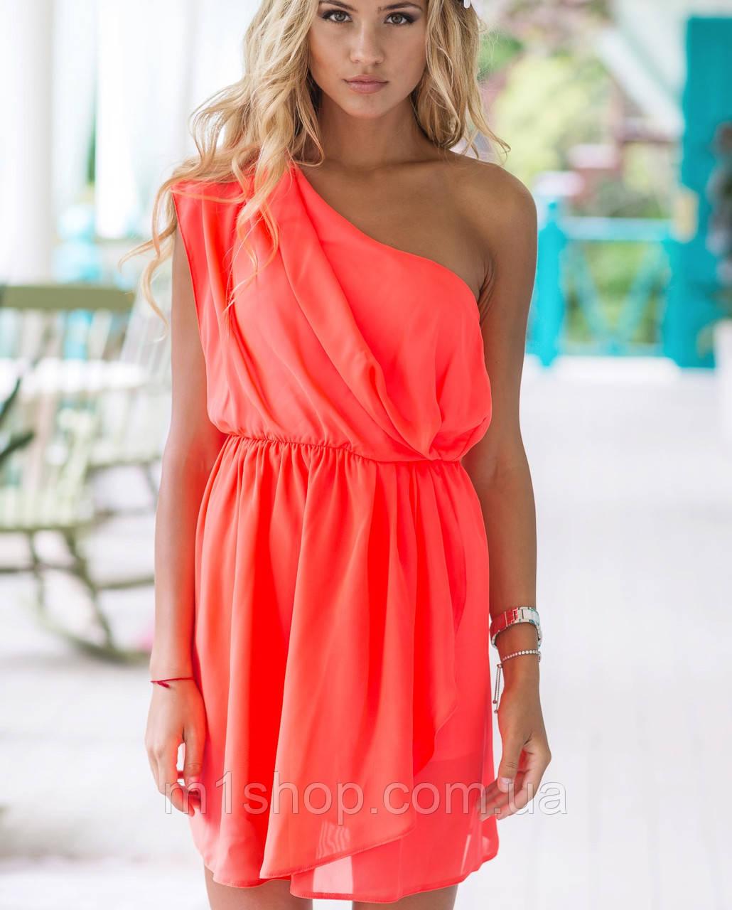 Платье на одно плечо | 2053 sk