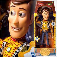 Шериф Вуди разговаривающий 40 см, woody talking action figure, Disney из США