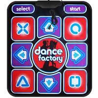 Танцевальный коврик Dance Factory 16 bit TV / PC