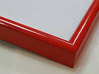 Рамка алюминиевая.Красный глянцевый.Профиль 12мм.