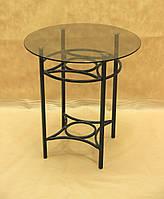 Стол стекло СС-06 Малый (металл, стекло)