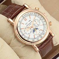 Мужские наручные часы  Patek Philippe P72524 Brown\Gold\White