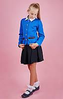 Школьный пиджак синий