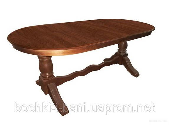 Стол кухонный овальный, фото 2