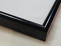 Рамка алюминиевая.Черный глянцевый.Профиль 12мм.