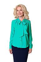 Стильная деловая женская блуза