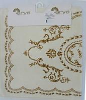 Коврик  70х120  Arya Basak кремовый с золотом