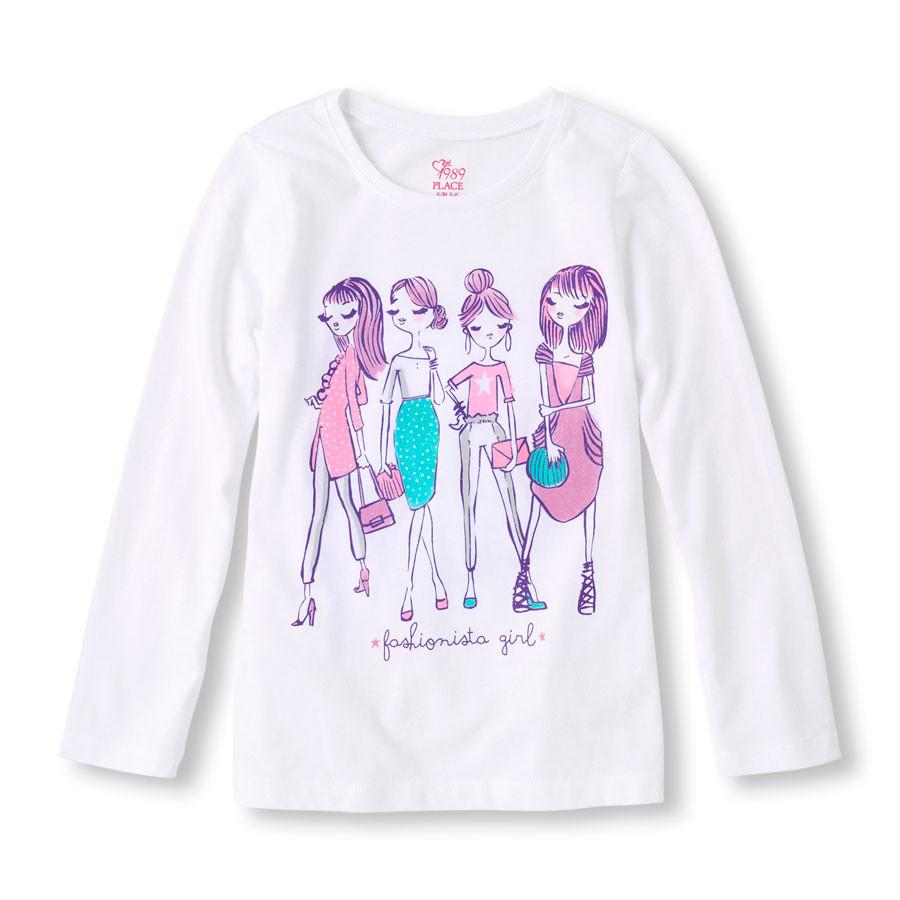 Реглан Модницы на девочку 10-12 лет The Children's Place (США)