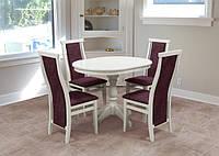 Круглый стол с стульями Комплект №19