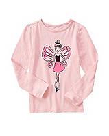 Реглан розовый на девочку 4-5-6 лет Crazy8 (США)