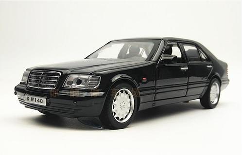 Машинка металл Mercedes-benz S-klass W140 Кабан 1:32