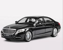 Машинка Welly Mercedes-benz S-klass 222 (1:24) черный (0100)