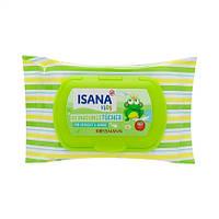 ISANA Kids Reinigungstücher 20 Stück - Детские влажные салфетки очищающие для лица и рук, 20 шт.
