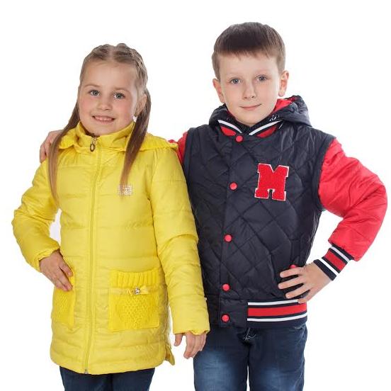 Детские куртки, жилетки Весна-Осень