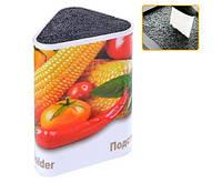 Кухонная подставка для ножей Овощи треугольник