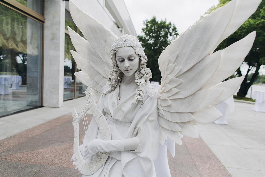 Живая статуя. Живые статуи