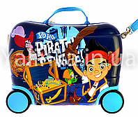 Детский чемодан на 4 колесах Пират 416-15