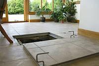 Підлоговий люк прихованого монтажу Revizio 900х700 серії Економ+