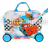 Детский чемодан на 4 колесах Тачки 416-2