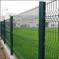 """Панельный забор из сварной сетки """"Рубеж"""""""