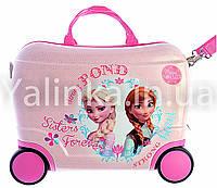 Детский чемодан на 4 колесах Холодное Сердце 416-5