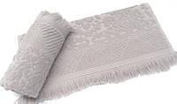 Махровое полотенце 100х150  Arya Damask Ayca лиловый