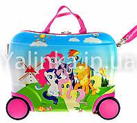 Детский чемодан на 4 колесах LITTLE PONY 416-14