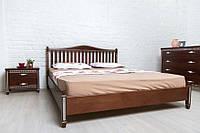 Кровать двуспальная Монблан массив бука