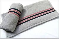 Махровое полотенце  Arya Mehlika Gri 50х90