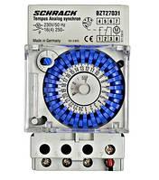 Механический таймер синхронизированный 1НО 3 мод. Schrack