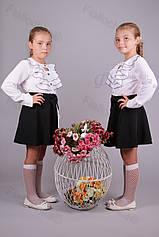 Юбка детская школьная 3700-223 оптом Украина