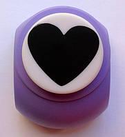 Дырокол фигурный Сердце 3,8 см кнопка