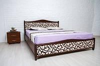 Кровать двуспальная Монблан прованс массив бука