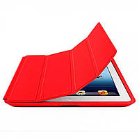 Чехол-книжка для Apple iPad 2/3/4 красный