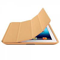 Чехол-книжка для Apple iPad 2/3/4 золотой