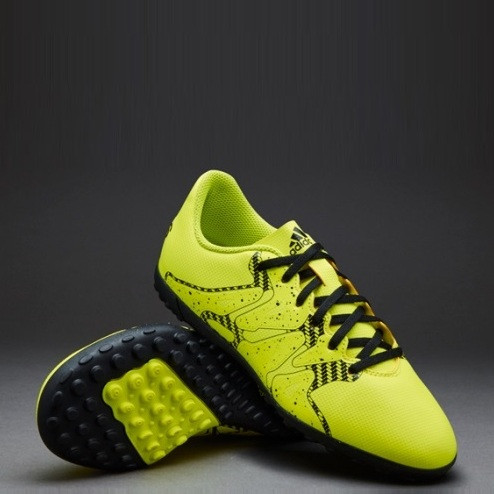 Детская футбольная обувь (многошиповки) Adidas X 15.4 TF Junior