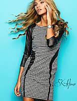 Комбинированное платье | Домино sk