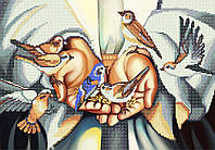 """Схема вышивки бисером """"В Его руках"""", А3 формат"""