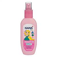 ISANA Kids Leichtkämmspray 150 ml - Детский спрей для волос Легкое расчесывание, 150 мл