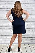Женское 0301 цвет синий с голубым до 74 размера / большие размеры, фото 3