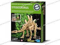 Дет/лаб. Скелет Стегозавр. Раскопки. /6/(3229)