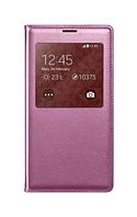 Чехол-флип премиум класса c IC-чипом для Samsung Galaxy S5 сиреневый