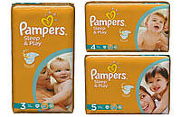 Подгузники Pampers Sleep&Play