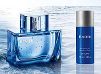 Мужской парфюмерный набор Excite Dima Bilan парфюм+дезодорант